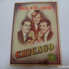 Cine: PROGRAMA CINE.CHICAGO. Lote 187527532