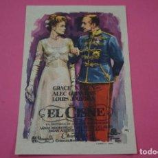Cine: FOLLETO DE MANO PROGRAMA DE CINE EL CISNE SIN PUBLICIDAD LOTE 27 MIRAR FOTO. Lote 187527940