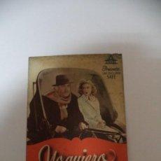 Cine: PROGRAMA CINE YO QUIERO VIVIR ASI. Lote 187532567