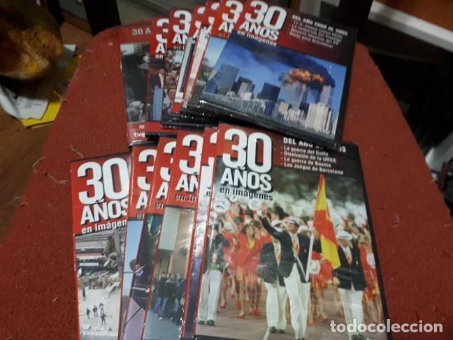 COLECCION DVD 30 AÑOS EN IMÁGENES + 23 AÑOS DE 23-F (Cine - Folletos de Mano - Documentales)