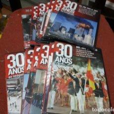 Foglietti di film di film antichi di cinema: COLECCION DVD 30 AÑOS EN IMÁGENES + 23 AÑOS DE 23-F. Lote 187579310