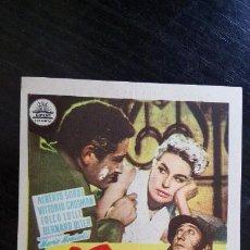 Cine: LA GRAN GUERRA. SENCILLO DE CIFESA. GRAN CINEMA SESTAO - 1961. ¡IMPECABLE!. Lote 187616091