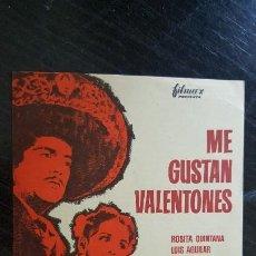 Cine: ME GUSTAN VALENTONES, CON ROSITA QUINTANA. SIN PUBLICIDAD.. Lote 187616318