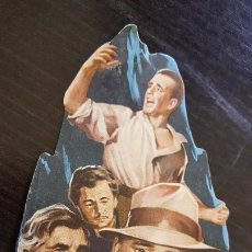 Cine: EL TESORO DE SIERRA MADRE. SENCILLO TROQUELADO ORIGINAL- 1948. CINE TEATRO BALEAR - TEATRO LÍRICO.. Lote 187622102