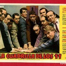 Cine: LA CUADRILLA DE LOS 11 SENCILLO SIN CINE , PMD 1294 G. Lote 210607092