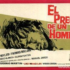 Cine: EL PRECIO DE UN HOMBRE SENCILLO SIN CINE , PMD 967. Lote 294167043