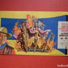 Cine: FOLLETO MANO, PROGRAMA - EL FABULOSO MUNDO DEL CIRCO - CINEMA VICTORIA - 22 DE OCTUBRE1966. Lote 188566441