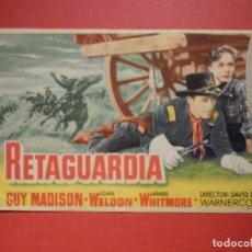 Cine: FOLLETO MANO, PROGRAMA - RETAGUARDIA - SIN PUBLICIDAD - 1953 . Lote 188567420