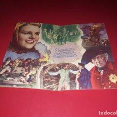 Cine: FOLLETO DOBLE EL GRAN REY. AÑO 1942.. Lote 188574373