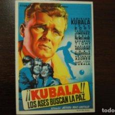Cine: KUBALA, LOS ASES BUSCAN LA PAZ. Lote 189101702