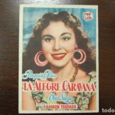Cine: LA ALEGRA CARAVANA, - IDEAL CINEMA, (ELDA) AÑO 1954. Lote 189104331