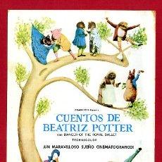 Cine: CUENTOS DE BEATRIZ POTTER SENCILLO SIN CINE , PMD 1304 G. Lote 189121526