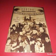 Cine: FOLLETO GRANDE SIGUIENDO MI CAMINO CON BING CROSBY. AÑO 1944.. Lote 189284283