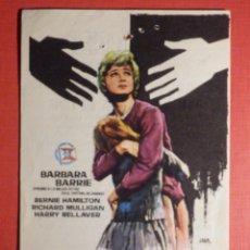Cine: FOLLETO DE MANO - FILM - PELÍCULA - VÍCTIMA DE LA LEY - 6 DE JUNIO 1968, CINE VICTORIA. Lote 189322568