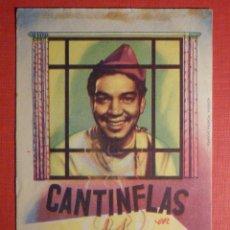 Cine: FOLLETO DE MANO - FILM - PELÍCULA - CANTINFLAS. Lote 189323258