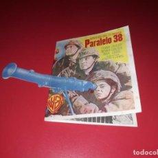 Cine: FOLLETO TROQUELADO PARALELO 38. AÑO 1952.. Lote 189356112