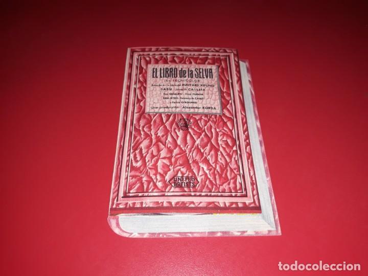 Cine: Folleto troquelado el Libro de la Selva. Año 1942. - Foto 2 - 189358506