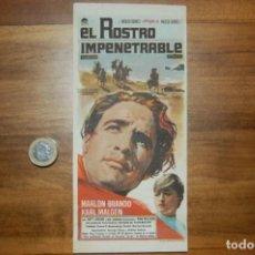 Cine: EL ROSTRO IMPENETRABLE. Lote 189789243