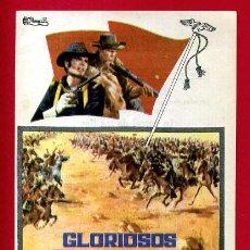 Cine: GLORIOSOS CAMARADAS SENCILLO CON CINE ORIGINAL PMD 1137. Lote 190003950