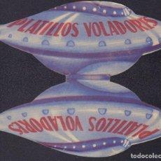 Cine: PROGRAMA TROQUELADO DE LOS PLATILLOS VOLADORES (1956), CON EVANGELINA ELIZONDO Y ANDRÉS SOLER. Lote 190180926