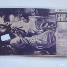 Cine: 23 ------ PROGRAMA DE MANO ORIGINAL EL DE LA FOTO. Lote 190285035