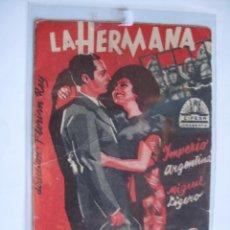 Cine: 64 ------ PROGRAMA DE MANO ORIGINAL EL DE LA FOTO. Lote 190290007