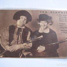Cine: 128 ------ PROGRAMA DE MANO ORIGINAL EL DE LA FOTO. Lote 190295937