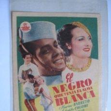 Cine: 169 ------ PROGRAMA DE MANO ORIGINAL EL DE LA FOTO. Lote 190299281