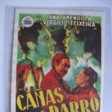 Cine: 231 ------ PROGRAMA DE MANO ORIGINAL EL DE LA FOTO. Lote 190383433