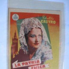 Cine: 296 ------ PROGRAMA DE MANO ORIGINAL EL DE LA FOTO. Lote 190387760