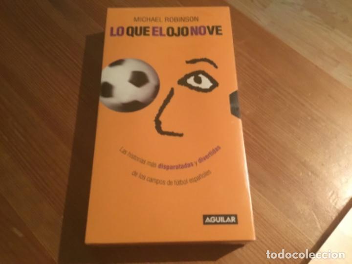"""VHS """"LO QUE EL OJO NO VE"""" (Cine - Folletos de Mano - Deportes)"""