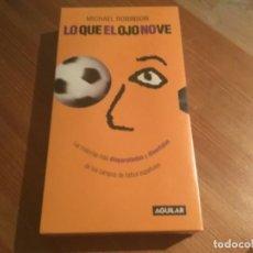 """Cine: VHS """"LO QUE EL OJO NO VE"""" . Lote 190554031"""
