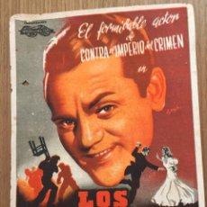 Cine: LOS PELIGROS DE LA GLORIA. Lote 190554961