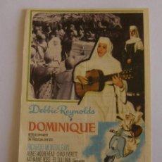 Cine: PROGRAMA DE CINE DOMINIQUE. Lote 190611928