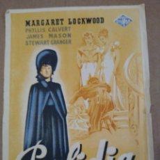 Cine: PROGRAMA CINE YA VOY. PERFIDIA. MARGARET LOCKWOOD. Lote 190852968