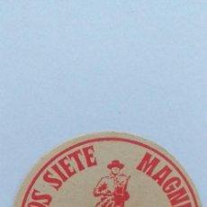 Cine: LOS SIETE MAGNIFICOS,PROGRAMA DE CINE TROQUELADO CINE REGIO. Lote 190989775