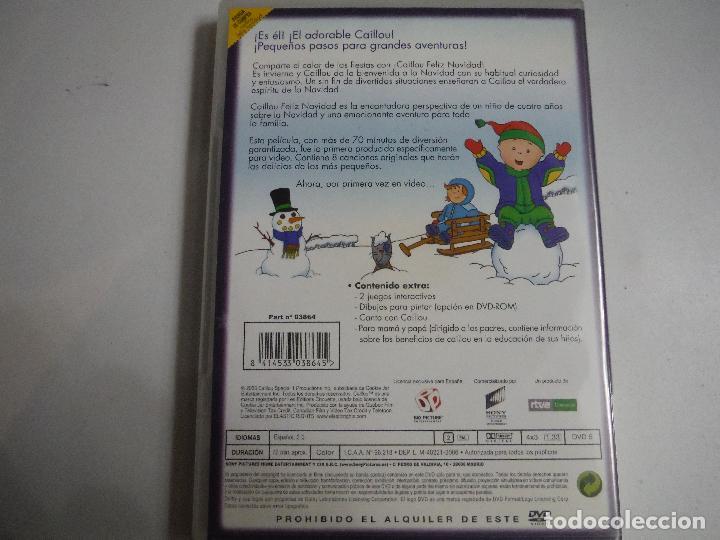 Cine: CAILLOU FELIZ NAVIDAD DVD - Foto 2 - 191146226