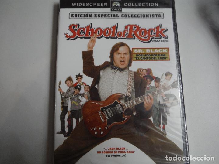 SCHOOL OF ROCK EDICION ESPECIAL COLECCIONISTA DVD (Cine - Folletos de Mano - Infantil)