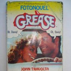 Cine: FOTONOVELA GREASE, EDITORIAL BRUGUERA. Lote 191213740