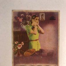 Cine: ELDA (ALICANTE) CINE CASTELAR Y COLISEO. MIENTRAS ARDE EL FUEGO FOLLETO DE MANO (H.1945?). Lote 191239011