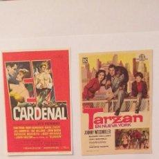 Cine: LOTE DE 4 PROGRAMAS DE CINE SIN PUBLICIDAD(Nº.3). Lote 191310062