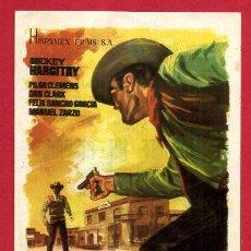 Cine: EL SHERIFF NO DISPARA SENCILLO CON CINE ORIGINAL PMD 1133. Lote 294167448