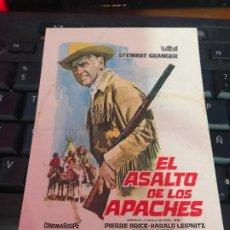 Cine: = EL ASALTO DE LOS APACHES - WINNETOU - STEWART GRANGER. Lote 191694322