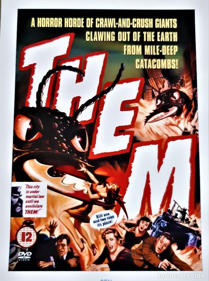Cine: SFX PRINT póster de película THEM 21x 29cm aprox. - Foto 3 - 191740148