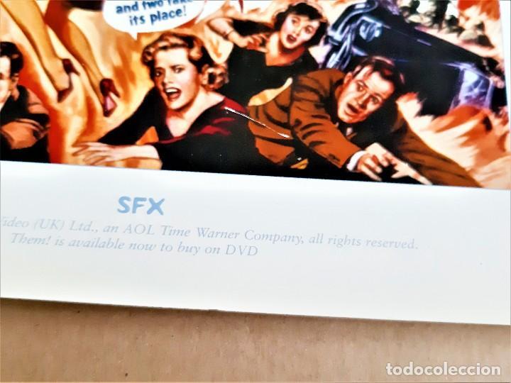 Cine: SFX PRINT póster de película THEM 21x 29cm aprox. - Foto 5 - 191740148