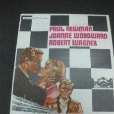 Cine: PROGRAMA DE CINE 500 MILLAS. PAUL NEWMAN, JOANNE WOODWARD. . Lote 191913420