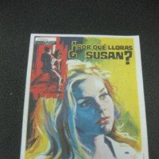Cine: PROGRAMA DE CINE.¿POR QUE LLORAS SUSAN? GIG YOUNG. CAROL LYNKEY. . Lote 191954593