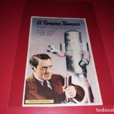 Cine: EL TANQUE HUMANO. EL MISTERIOSO DR. SATAN. Lote 192186630