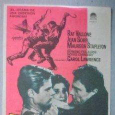 Cine: PROGRAMA DE CINE - PANORAMA DESDE EL PUENTE. Lote 210317851