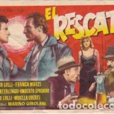 Cine: EL RESCATE. Lote 192503677